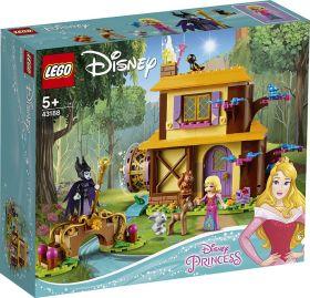 LEGO 43188 La casetta nel bosco di Aurora LEGO Disney Princess su ARSLUDICA.com
