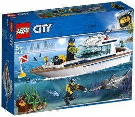 LEGO 60221 Yacht per Immersioni (LEGO City)