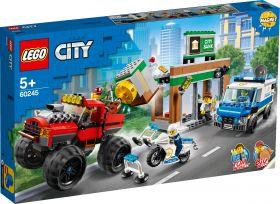 LEGO 60245 Rapina sul Monster Truck LEGO City su ARSLUDICA.com