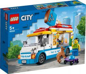 LEGO 60253 Furgone dei Gelati LEGO City su ARSLUDICA.com