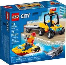 LEGO 60286 ATV di Soccorso Balneare | LEGO City