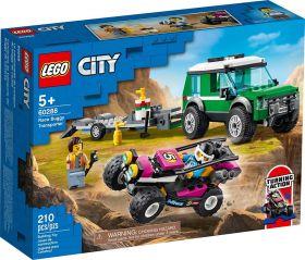 LEGO 60288 Trasportatore di Buggy da Corsa  LEGO City