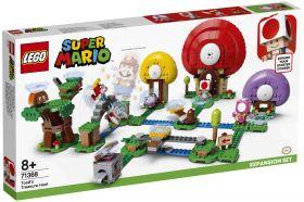 LEGO 71368 Caccia al Tesoro di Toad LEGO Super Mario su ARSLUDICA.com
