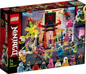 LEGO 71708 Il Mercato dei Ninja Gamers LEGO Ninjago su ARSLUDICA.com