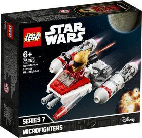 LEGO 75263 Microfighter Y-Wing della Resistenza LEGO Star Wars su ARSLUDICA.com