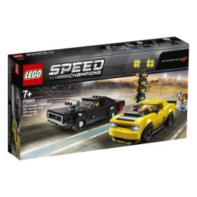 LEGO 75893 2018 Dodge Challenger SRT Demon e 1970 Dodge Charger R/T (LEGO Speed Champions)