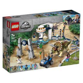 LEGO 75936 L'assalto del Triceratopo (LEGO Jurassic World) su ARSLUDICA.com