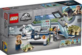 LEGO 75939 Il laboratorio del Dottor Wu: fuga dei baby dinosauri LEGO Jurassic World su ARSLUDICA.com