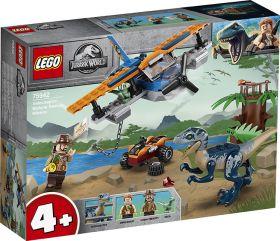 LEGO 75942 Velociraptor salvataggio in biplano LEGO Jurassic World su arsludica.com