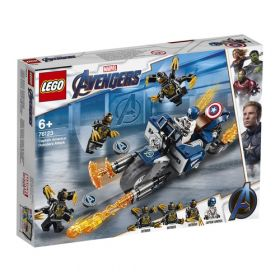 LEGO 76123 Captain America: Attacco degli Outrider (LEGO Marvel Avengers)