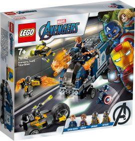 LEGO 76143 Attacco del Camion LEGO Marvel Avengers su ARSLUDICA.com