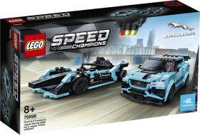 LEGO 76898 Formula E Panasonic Jaguar Racing GEN2 car & Jaguar I-PACE eTROPHY LEGO Speed Champions su ARSLUDICA.com