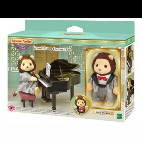 Leone e Pianoforte 6011 (Sylvanian Families Town Set)