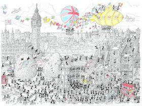 Londra (Puzzle 1080 Pezzi Le Formiche di Fabio Vettori)