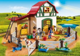 Maneggio dei Pony Playmobil Country 6927 su ARSLUDICA.com