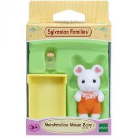 Marshmallow Bebè Topolino Bianco (Sylvanian Families)