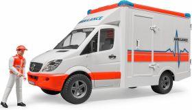 Mb Sprinter Ambulanza con Autista (Gioco Bruder)