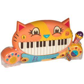 Meowsic (B. Toys) tastiera per bambini di altissima qualità su ARSLUDICA.com