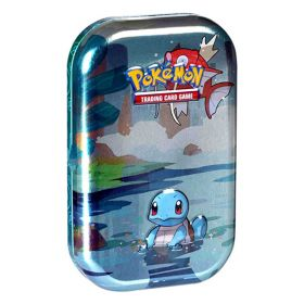 Pokémon Mini Tin da Collezione Amici di Kanto Squirtle | Pokémon