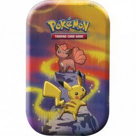 Pokémon Mini Tin Da Collezione Prodigi di Kanto Vulpix e Pikachu | Pokémon