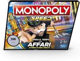 Monopoly Speed Gioco da Tavolo Hasbro