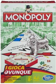 Monopoly Travel - I Gioca Ovunque Gioco da Tavolo Hasbro