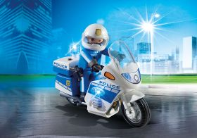 Moto della Polizia Playmobil City Action 6923 su ARSLUDICA.com
