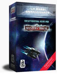 Mystery House - La Base Abbandonata Espansione Cranio Creations | Gioco da Tavolo
