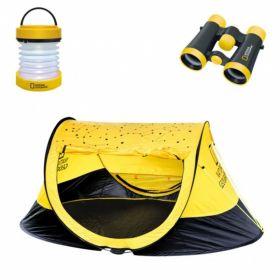 Set Outdoor Tenda Binocolo Lanterna Bambini | National Geographic   - Set