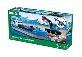 Nave Container e Gru 33534 (BRIO Lift and Load)