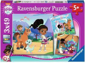 Nella (Puzzle 3x49 pezzi Ravensburger)