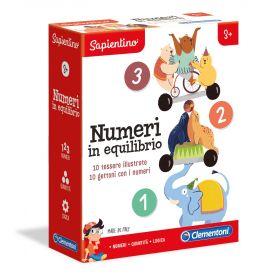 Numeri in Equilibrio Sapientino Clementoni su ARSLUDICA.com