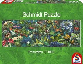 Panorama della Giungla (Puzzle 1000 pezzi Schmidt)