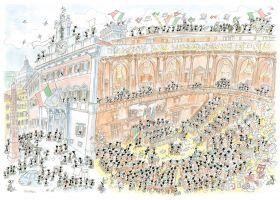 Parlamento (Puzzle 1080 Pezzi Le Formiche di Fabio Vettori)