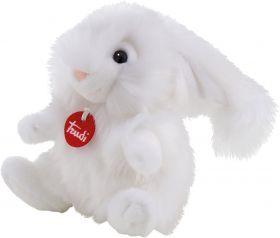 Peluche Trudi Coniglio Bianco Fluffies a Pelo Lungo