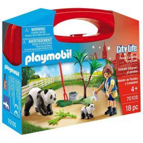 Gioco Valigetta Small Panda   Playmobil