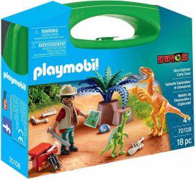 Gioco Valigetta Large Dinosauri | Playmobil