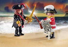 Playmobil 70273 Pirata e Soldato della Marina Reale | Playmobil Pirati