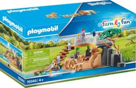 Playmobil 70343 Recinto dei Leoni (Playmobil Zoo)