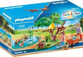 Playmobil 70344 Angolo dei Panda Rossi (Playmobil Zoo)