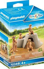 Playmobil 70349 Colonia di Suricati (Playmobil Zoo)