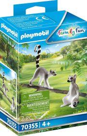 Playmobil 70355 Lemuri Catta (Playmobil Zoo)