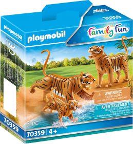 Playmobil 70359 Famiglia di Tigri (Playmobil Zoo)