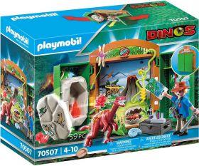 Gioco Archeologo con Uovo di Dinosauro | Playmobil Dinosauri