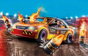 Gioco Show Crash Car | Playmobil City Action - Auto da Acrobazie