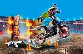 Gioco Show Moto Da Acrobazie 70553 | Playmobil City Action - Gioco Azione