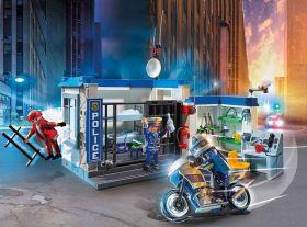 Gioco Fuga dalla Stazione di Polizia| Playmobil Polizia