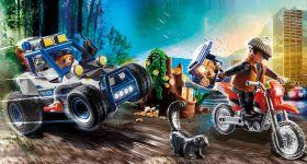 Gioco Quad della Polizia con Ladro | Playmobil Polizia