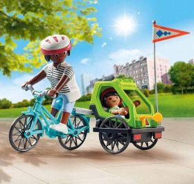 Mamma con Bicicletta | Playmobil Special Plus