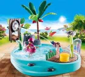 Piscina con Giochi d'Acqua   Playmobil